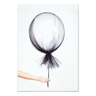 Simple grey balloon, sketch card