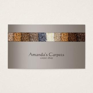 Simple Grey Carpet Shop Card