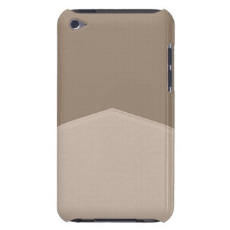 Simple Grey Barely There iPod Case