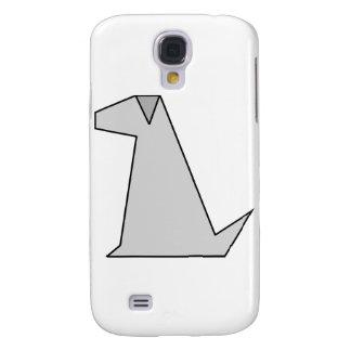 Simple Grey Dog Galaxy S4 Cover