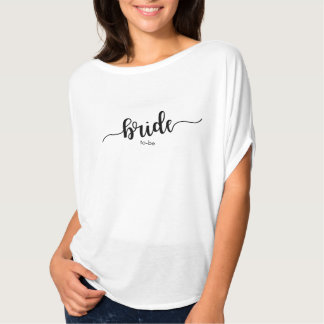 Simple Handwritten BRIDE (to-be) Shirt