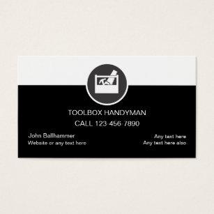 handyman business cards template