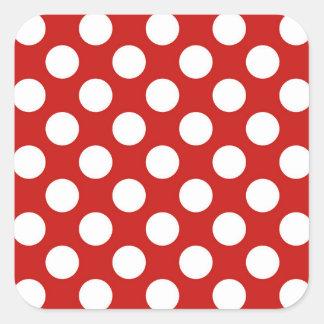 Simple Harmonious Creative Effervescent Square Sticker