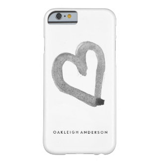 Simple Heart Barely There iPhone 6 Case