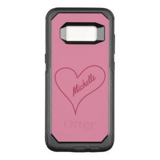 Simple Heart custom name phone cases