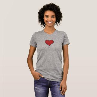 Simple Heart Icon Shirt