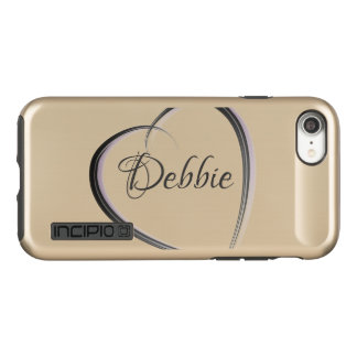Simple heart | Personalized Incipio DualPro Shine iPhone 8/7 Case