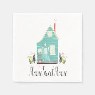 Simple Home Sweet Home | Napkin Paper Napkin