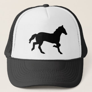simple horse trucker hat