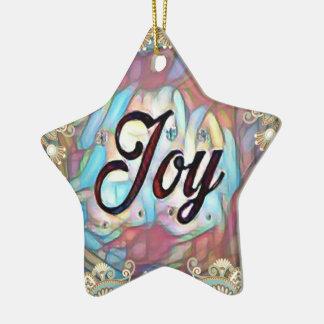 Simple Joy Ceramic Star Decoration