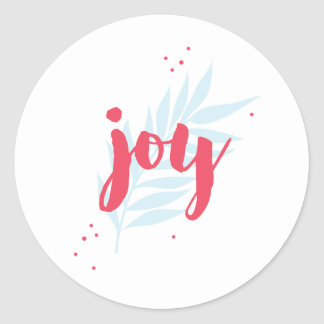 Simple Joy Foliage custom sticker
