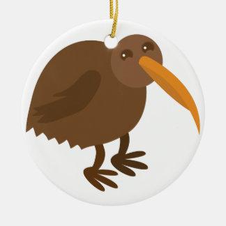 Simple KIWI Bird Christmas Ornament