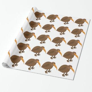 Simple KIWI Bird Wrapping Paper
