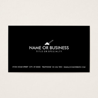 simple lawn mower business card