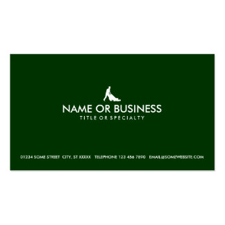 simple lawn mowing pack of standard business cards