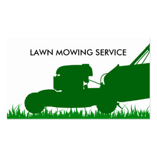 Simple Lawn Service Pack Of Standard Business Cards