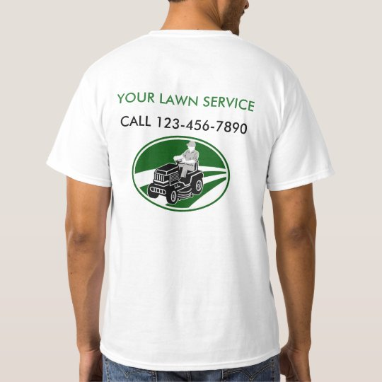 Simple Lawn Service T-Shirt