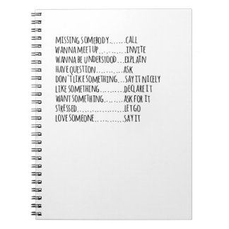 simple life notebook