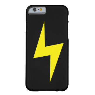 Simple Lightning Bolt Dark iPhone 6 case
