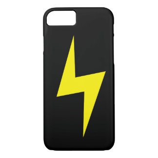 Simple Lightning Bolt Dark iPhone 7 case