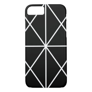 Simple-Lined Case / White & Black