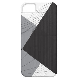 Simple Lines and Triangles iPhone 5 Case