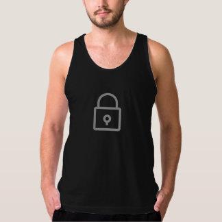 Simple Lock Icon Shirt