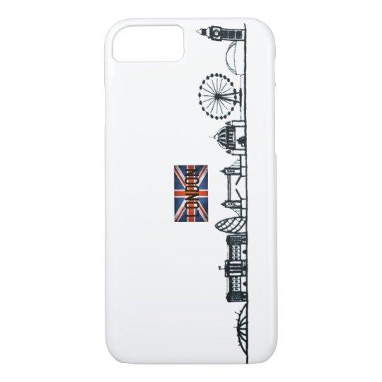 SIMPLE LONDON LANDMARK ILLUSTRATION DESIGN iPhone 7 CASE