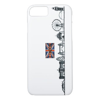 SIMPLE LONDON LANDMARK ILLUSTRATION DESIGN iPhone 8/7 CASE