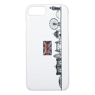 SIMPLE LONDON LANDMARK ILLUSTRATION DESIGN iPhone 8/7 CASE