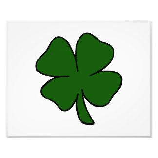 simple lucky four leaf clover design.png photograph