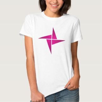 Simple Magenta Pinwheel T-Shirt
