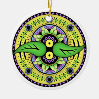 Simple Mandala 2 Christmas Ornament