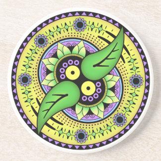 Simple Mandala 2 Coaster