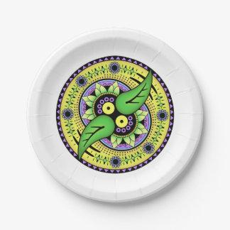 Simple Mandala 2 Paper Plate