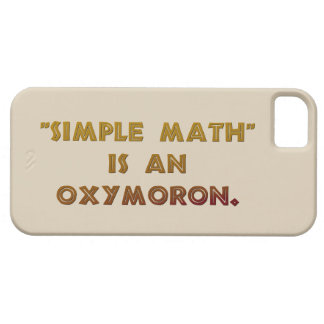 Simple Math is an Oxymoron Case For The iPhone 5