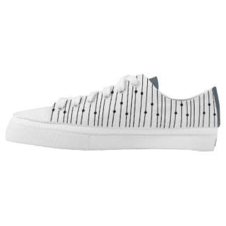 Simple Minimal Pattern Low Top for everyday wear Printed Shoes