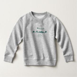 Simple Minimal Santa Claus Christmas Sweatshirt