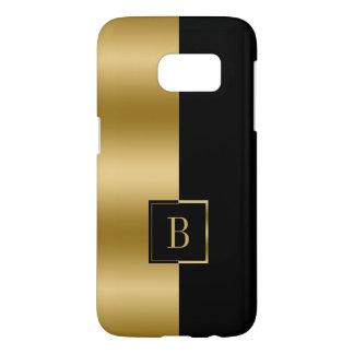 Simple Modern Black & Gold Geometric Design