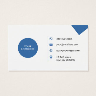 Simple Modern Business Card - Your Custom Text