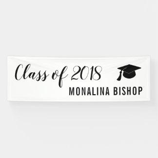 Simple Modern | Class Of 2018 | Graduate Banner