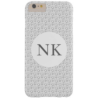 simple modern pattern black and white barely there iPhone 6 plus case