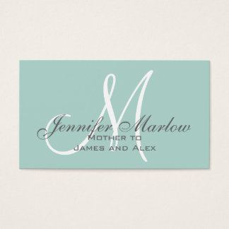 Simple Mommy Calling Card
