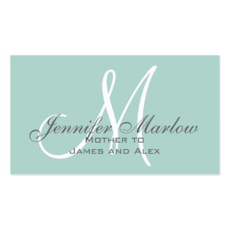 Simple Mommy Calling Card Business Cards