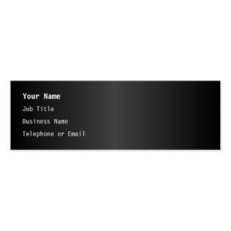 Simple Monochrome Design Business Card Templates