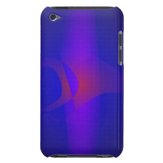 Simple Navy Abstract Painting iPod Touch Case-Mate Case