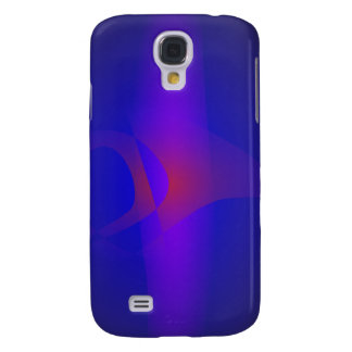 Simple Navy Abstract Painting Samsung Galaxy S4 Covers