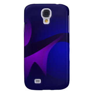 Simple Navy Gradation Abstract Art Samsung Galaxy S4 Cases