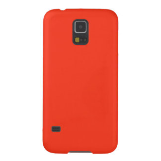 Simple Orange Color Galaxy S5 Covers