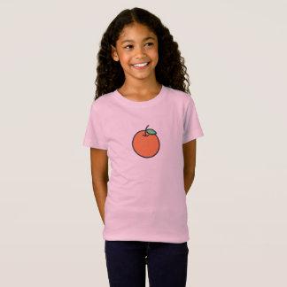 Simple Orange Icon Shirt